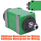 60008000rpm Spindle Unit 2hp Power Head For Cnc Engraving Milling Machine 1.5kw