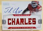 2012 National Treasures Jamaal Charles Timeline 7X Patch Auto Autograph 10 10
