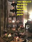 HOW TO BUILD Halloween Display Stand Dept 56 Lemax - Christmas village house