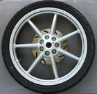 Benelli Andretti M50 scooter FRONT WHEEL w/TIRE & BRAKE DISK - p/n 44100B450000