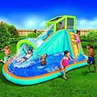 Inflatable Water Slide Huge Kids Pool 14 Feet Long by 8 Feet High with Built
