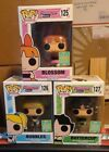 Funko Pop Powerpuff Girls SDCC + HIM CHASE (not pictured) set of 4
