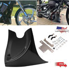 Gloss Black Chin Fairing Front Spoiler for Harley Dyna Fatboy Softail 04-17