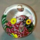 Glass Eye Studio Ocean Reef Environmental Art Glass Paperweight