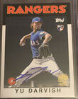 Yu Darvish Autographs Coming Exclusively in Topps Products 22