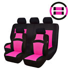Carpass Car Seat Cover Sandwich Rainbow Color 14pcs 7color For 4060 6040 Split
