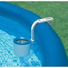 Intex Swimming Pool Deluxe Surface Skimmer Wall Mount Basket Above Ground Debris