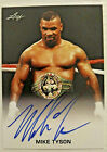 Mike Tyson Boxing Cards and Autographed Memorabilia Guide 5