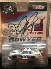 Signed Clint Bowyer 33 The Hartford NASCAR diecast car 1 64 Promo Diecast Auto