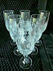 SCHOTT ZWIESEL Cut Lead Crystal Champagne Flutes Set of 6 in original boxes MINT