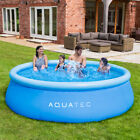 Aquatec Inflatable Swimming Pools 5 Sizes  GARDEN PADDLING POOLS Family Kids