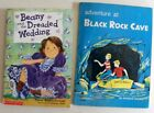 2 Books Adventure at Black Rock cave  Lauber & Beany & the Dreaded Wedding Book