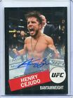 2020 Topps UFC Striking Signatures MMA Cards 11