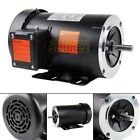 15 HP Electric Motor 3 Phase 56C Frame 1800 RPM TEFC 230 460 Volt New