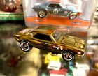 HotWheels 30th Annual Collectors Convention 67 Camaro Gold 1 of 2600 Loose Mint