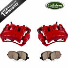 Front Brake Calipers and Pads For NISSAN FRONTIER SUZUKI EQUATOR 2WD 4 CYL 25L