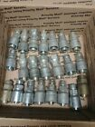 LOT OF 24 PARKER P43 12 HYDRAULIC HOSE FITTINGS NOS