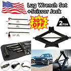 Repair Spare Tire Tool Kit Lug Wrench With Scissor Jack For 2004 2014 Ford F 150