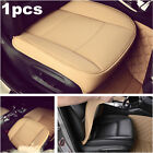 1x Car Front Seat Cover PU Leather Breathable Cushions For Interior Accessories