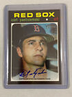 2020 Topps Heritage CARL YASTRZEMSKI Autograph Boston Red Sox Real One Auto HOF