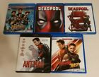 Black Panther Deadpool Deadpool 2 Ant Man Ant Man And The Wasp Blu ray