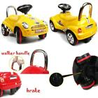 Amazing Tech Depot 3 In 1 Ride On Car Toy Gliding Scooter With Sound Light Co