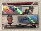 2007 Topps Co-Signers Miguel Cabrera Dontrelle Willis Dual Auto Autograph #CS-CW