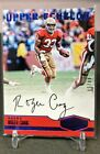 2016 Plates and Patches Blue ROGER CRAIG ON CARD AUTO AUTOGRAPH # 50 SSP 49ers