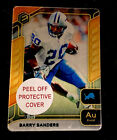 Barry Sanders Cards and Memorabilia Guide 8