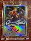 2003-04 Topps Chrome Shaquille O'Neal Lakers Auto 10 25 Chromographs Refractor