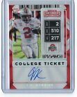 Contenders Football Rookie Ticket Autographs Visual History: 1998-2017 39