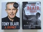 A Journey by Tony Blair 2010 Hardback Edition Signed By The Author