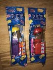 Emergency Heroes Pez MIB African American Fireman & Construction Worker