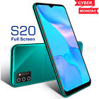 S20 2020 New Unlocked Cell Phone Android 90 Smartphone Dual SIM Quad Core Cheap