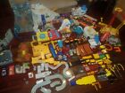Large Lot Vintage Hot Wheels Matchbox Playsets Tracks City 1980 thru 2000