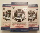 2020 Topps ARCHIVES SNAPSHOTS BOX Sealed Auto Pack - 1 Autograph per box