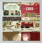 Lot of 4 DCWV Paper Crafting Project Ideas Premium Stack 12 x 12 inch Assorted