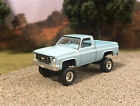 1979 Chevy K10 4x4 Truck Lifted 1 64 Diecast Custom Auto World Farm Square Body