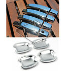 Fit 2011 2012 2013 2014 2015 2016 Chevy Sonic Chrome Door Handle Covers + Bowls
