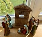 Manager Nativity Sceen 7 Piece Set Display Christmas Season Christian Bookstore