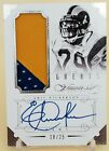 2014 Flawless Eric Dickerson Greats 2 Color Patch Auto Autograph 18 25 Rams!!