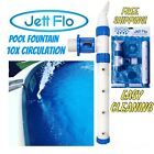 Above Ground Swimming Pool Water Fountain+ 10x Circulation For Easy Cleaning