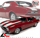 AUTOWORLD AMM1228 118 1967 CHEVROLET CAMARO NICKEY BOLERO RED MCACN