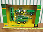 John Deere 3 Piece Harvesting Set With S680 Combine By Ertl 1 64th Scale