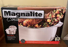 Wagner Magnalite Classic 15 Covered Oval Roaster Meat Rack Lid Rare New