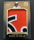 EDDIE MURRAY 2011 Topps Tier One JUMBO PATCH 10 Orioles