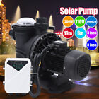 Solar Swimming Pool Pump Removable Filter Solar Heating Pump Controller In Above