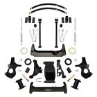 For Chevy Silverado 1500 14 18 6 x 6 Stage 1 Front  Rear Complete Lift Kit