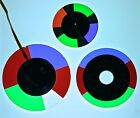 RGB Color Filter Wheel with Dichroic RGB Filters 3 in Lot
