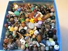 2 Pounds Mix Glass Beads Vintage Antique Mod Lampwork Etc